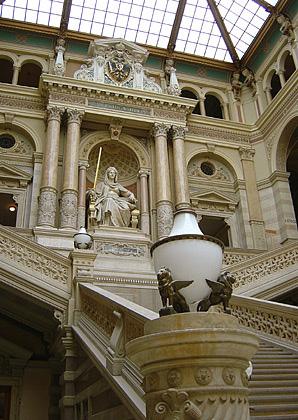 Pałac Sprawiedliwości, Aula Stiegenaufgang